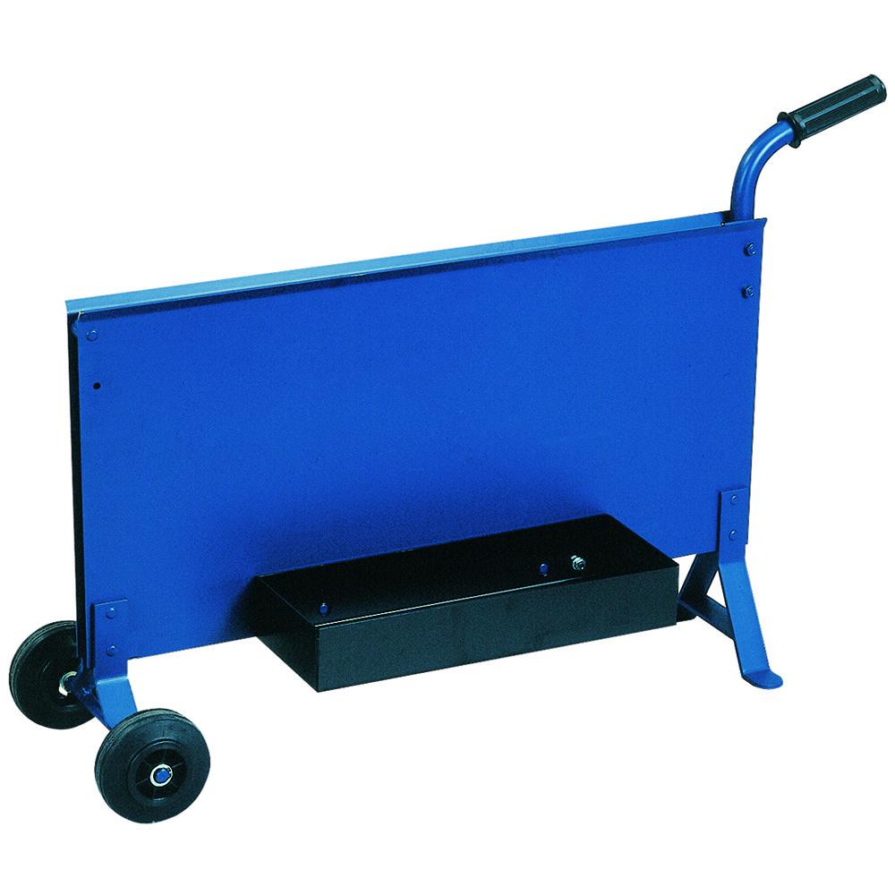 Stahlbandabroller Farbe blau 25 bis 32 mm, Blechstärke 3,0 mm Lieferung ohne Ablagekasten