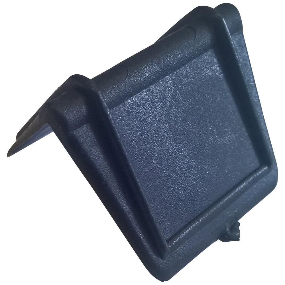 Kantenschuetzer 25 mm mit Dorn aus Kunststoff