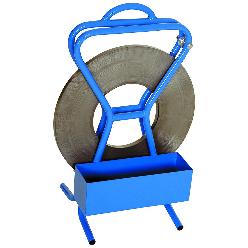 Stahlbandabroller tragbar für max. 45 mm Aussendurchm.