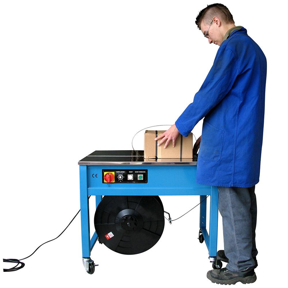 Halbautomatische Umreifungs-Maschine Eko-Pack Höhenverst.