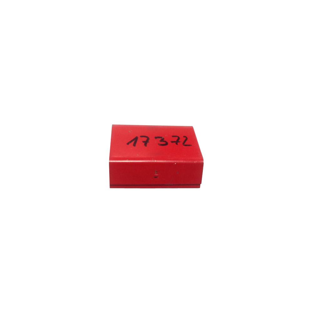 Magazin-Verschlusshülsen rot lackiert 16/19 mm (58/34 AMP)