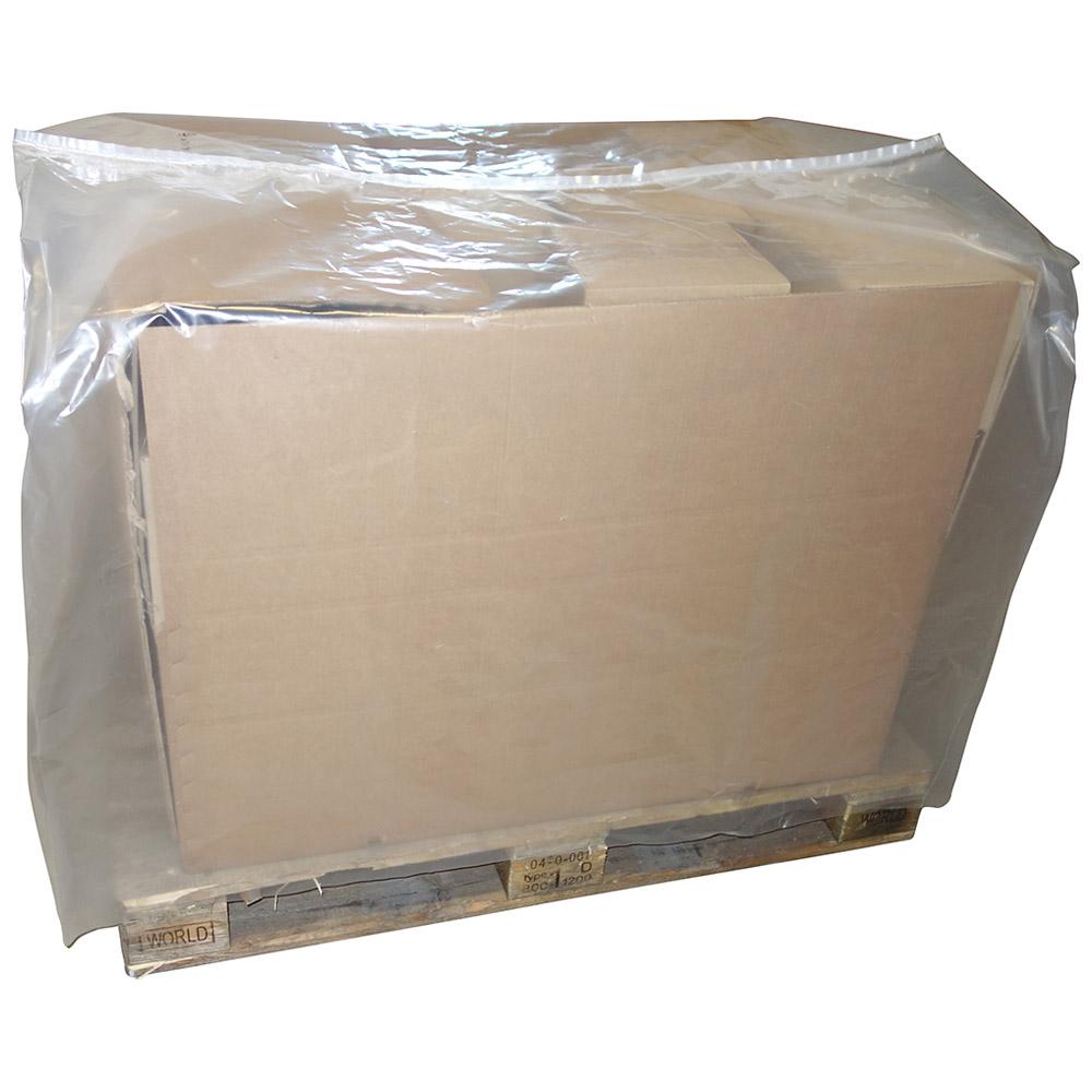 PE-Schrumpfhauben transparent 1250X850 mm, 1600 mm lang