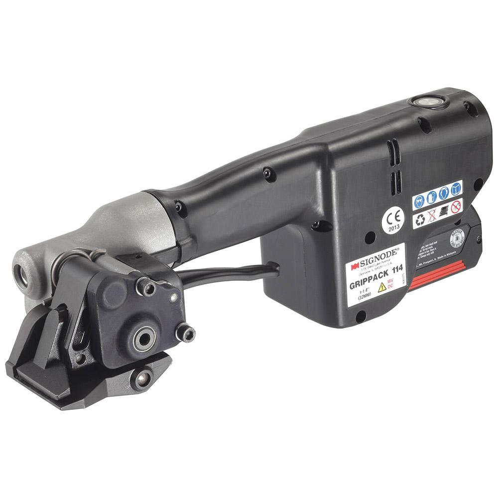 Akkuspanner für Stahlband 19 bis 32mm