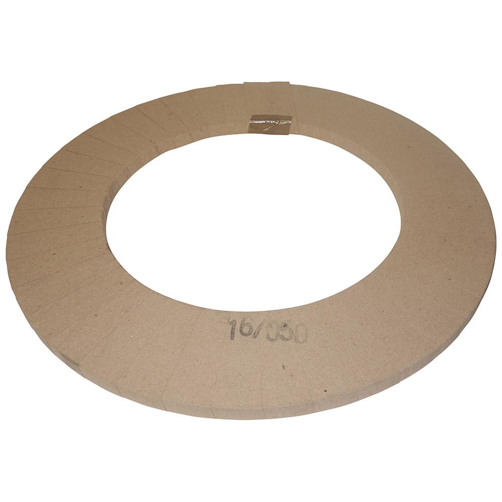 1.5 Spezialrolle 16X0,5 MM blank in Krepp-Papier