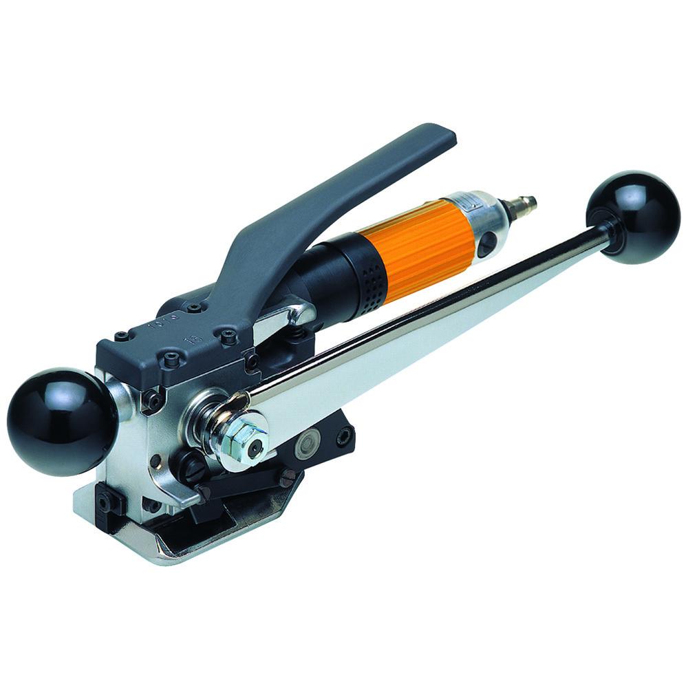 Hülsenloses Stahlbandumreifungsgerät pneumatisch OHE-pne 19 mm
