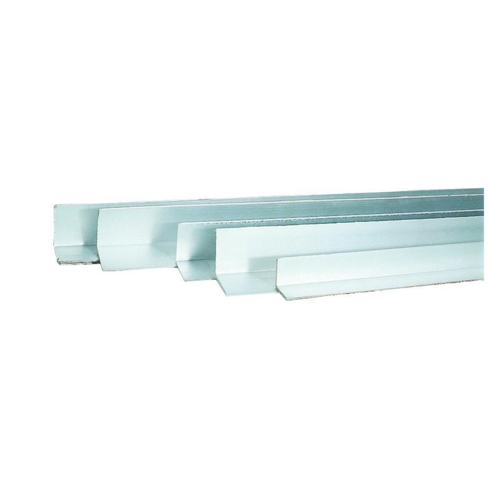 Flächenkantenschutz 60 x 60 x 3 mm alubeschichtet a 2,00 m lang